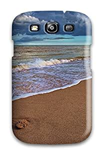Durable Protector Case Cover With Beach Sand Hot Design For Galaxy S3