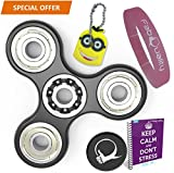 Prime Fidget Spinner Anxiety AttentionToy Toy With BONUS eBook Included - Perfect For ADD, ADHD Relieves Stress, Autism And Anxiety And Relax for Children and Adults BONUS EBOOK is sent by email