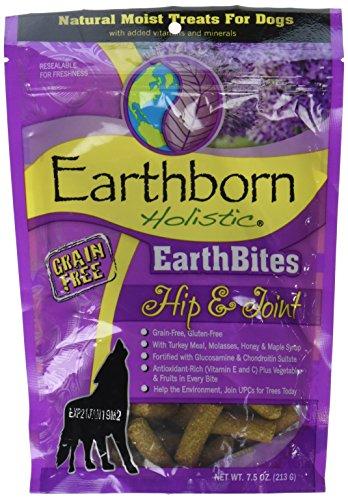 Earthborn Holistic EarthBites Hip & Joint Grain Free Moist Treats For Dogs, 7.5 oz. For Sale