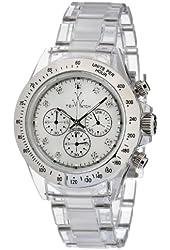 Toy Watch Women's 8008WHP Quartz Chronograph Analog Watch
