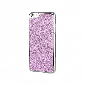 iPhone 6 Case, Fine Fair Shimmering Powder Frosted Electroplating PC and Lagging Phone Case Cover for iPhone 6 4.7 inch Pink