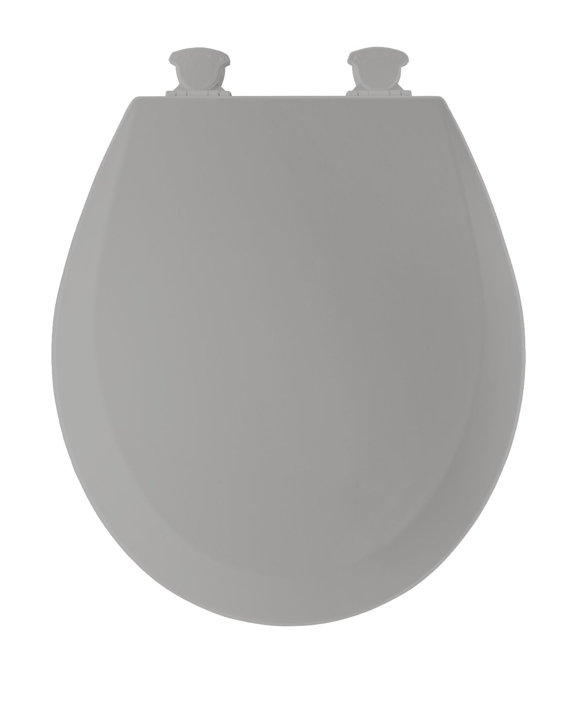 easy home toilet seat. bemis 500ec062 molded wood round toilet seat with easy clean and change hinge, ice grey - amazon.com home