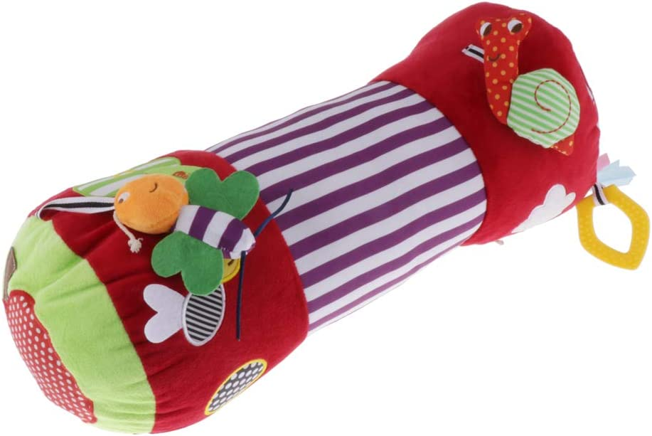 Music Tummy Time Toys Cute /& Comfortable with Mirror Baby Infants Pillow Plush Toy Cushion