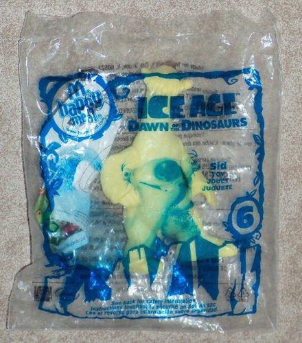 McDonalds - ICE AGE Dawn of Dinosaurs #6 SID - 2009 (Ice Age 3 Dawn Of The Dinosaurs Mcdonalds)
