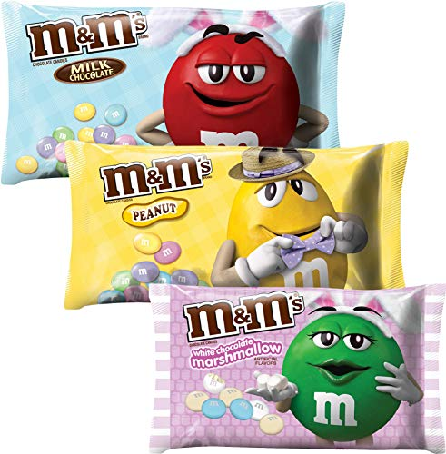 M&M MILK CHOCOLATE EASTER CANDY -