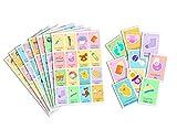 Juego de Lotería para Baby Shower. Bingo for Baby Shower. Inglés y Español. English and Spanish version.(16 boards)