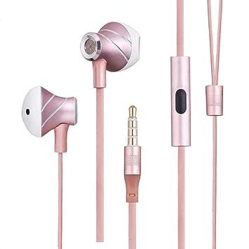 LJ2 Auriculares de Tipo C USB, Auriculares intraurales con Cable ...