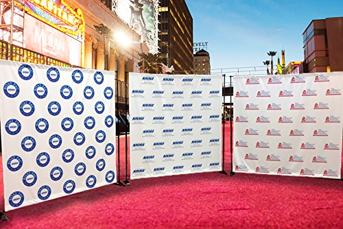 Custom Step and Repeat Banner 8 x 8 ft ( Only Print)