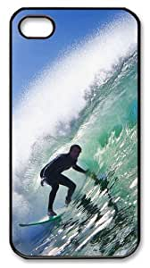 iphone 4 case shop covers Surf 01 PC Black for Apple iPhone 4/4S