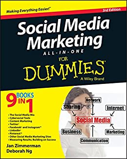 Social Media Marketing All Dummies ebook product image