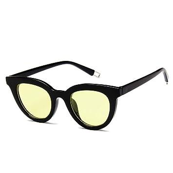WZYMNTYJ Gafas Marinas con Lentes de Sol Vintage Cat Eye ...
