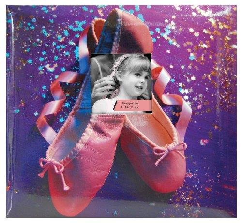 Share Album - MBI 12x12 Inch Sport and Hobby Postbound Album, Dance/Ballet (865451)