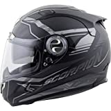 Scorpion EXO-1100 Jag Adult Street Racing Motorcycle Helmet - Phantom/Small