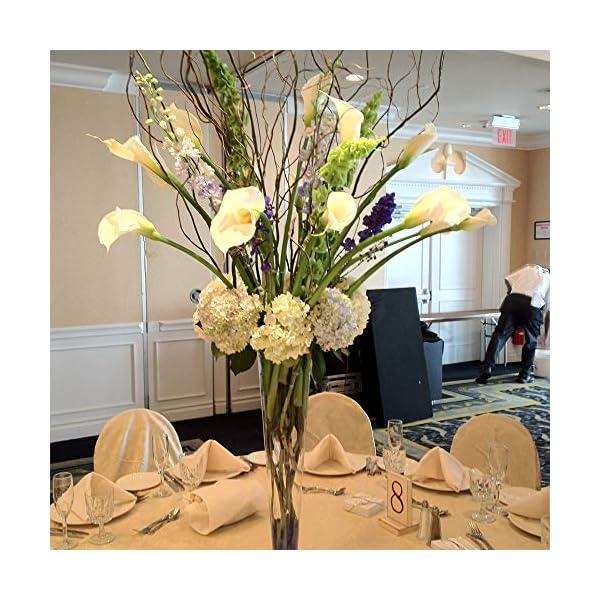 GTIDEA-20Pcs-Fake-PU-Calla-Lily-Artificial-Flowers-Bride-Wedding-Bouquet-for-Table-Centerpieces-Arrangements-Home-DIY-Garden-Office-Decor-White