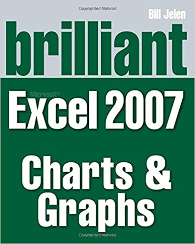 Brilliant Microsoft Excel 2007 Charts and Graphs (Brilliant Excel Solutions)