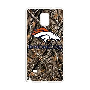 Hoomin Confederal Camo Denver Broncos Samsung Galaxy Note4 Cell Phone Cases Cover Popular Gifts(Laster Technology)