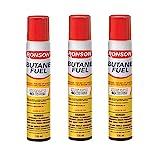 Ronson Lighter Butane Refill 135ML (Pack of 3) with