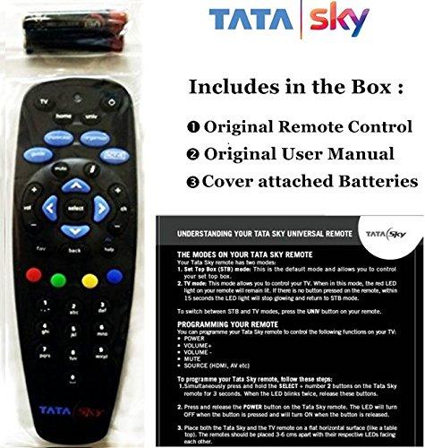 buy tata sky 100 original universal remote online at low prices in rh amazon in tata sky hd box user guide tata sky hd box user guide