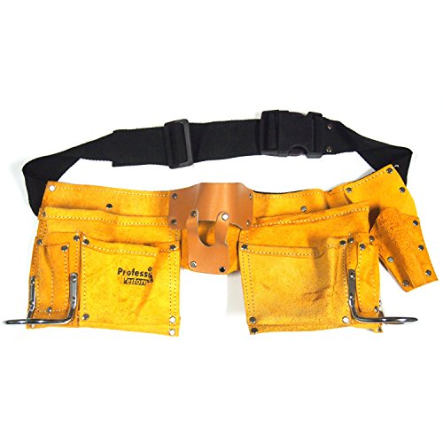 10 Pocket Leather Tool Belt