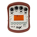 NUX PA-2 Acoustic Guitar Effect Multifunctional Portable Guitar Parts Accessories 18 Types of Preset Two Tuning Modes