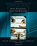 img - for Student Solutions Manual for Basic Statistical Ideas for Managers, 2nd Edition book / textbook / text book