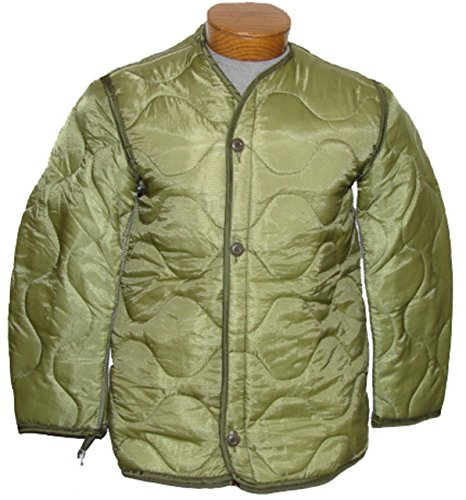 Military Outdoor Clothing Previously Issued U.S. G.I. Nylon M-65 Coat Liner, Medium (Best M65 Field Jacket)