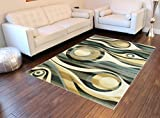 Modern Area Rug #581 Dusk 5 Ft. 2 In. X 7 Ft. 3 In. Review