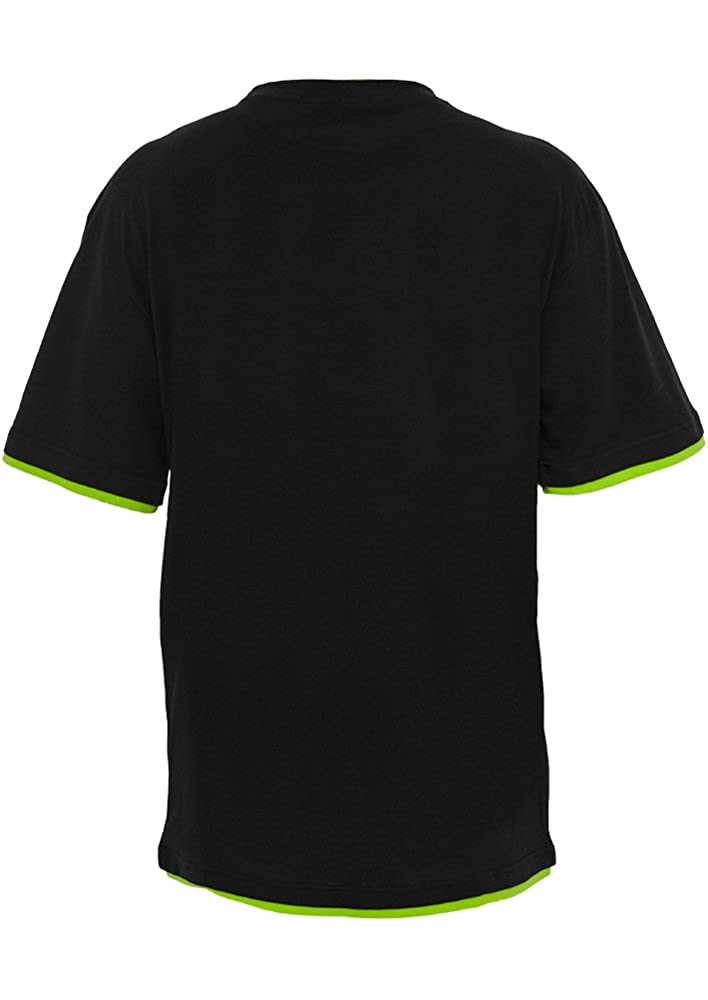 Urban Classic Mens Clothing Contrast Tall Tee