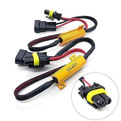 O-NEX HID LED Resistor Kit Relay Harness Adapter Anti Flicker Error Decoder Warning Canceller