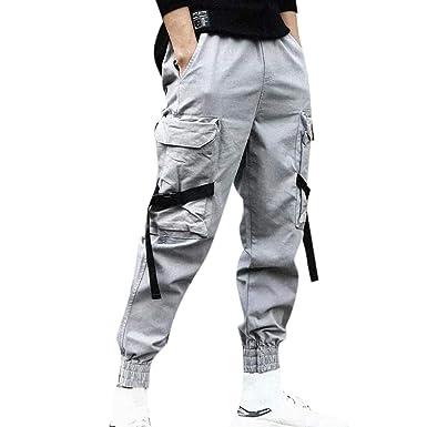 Poundy - Pantalones de chándal para Hombre, Ajustados, para Correr ...
