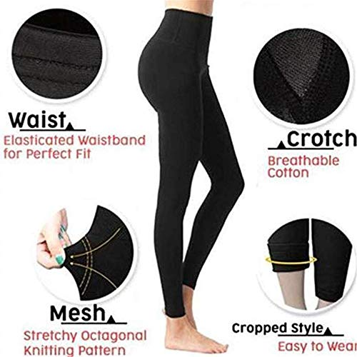 af435d2cbd Mancai Sculpting Leg Shaper High Waist Pants Yoga Fitness Legging Women  Sleep Body Shaper Slimming Socks