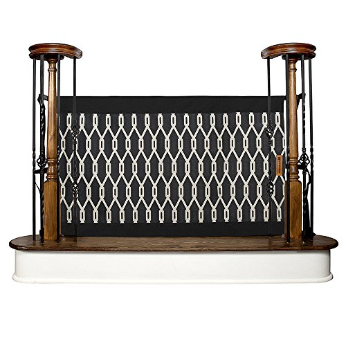 The Stair Barrier Baby and Pet Gate – Banister-to-Banister