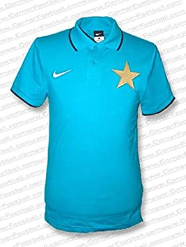 Nike - Inter Milan Polo 10/11 Hombre Color: Celeste Talla: XL ...