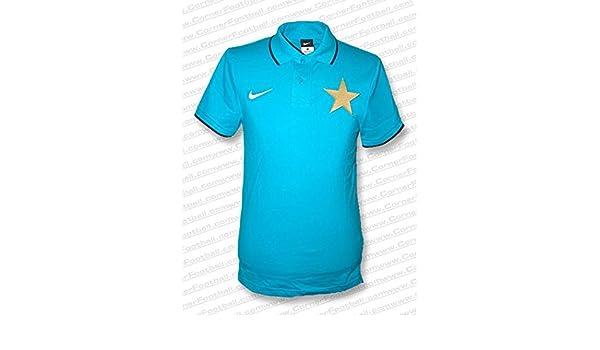 Nike - Inter Milan Polo 10/11 Hombre Color: Celeste Talla: XL ...
