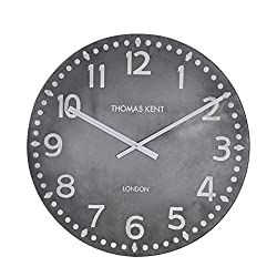 Thomas Kent 0816SNJAXPC Wall Clock, 30, Gray