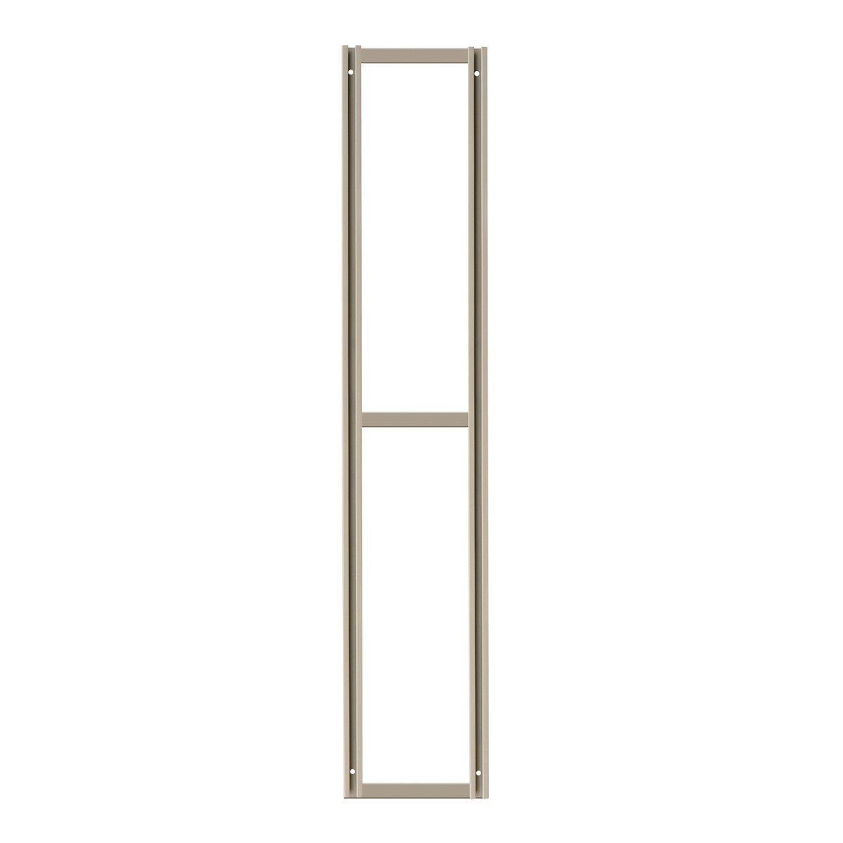 Akro-Mils TV70F 70-Inch Tall Wall Mounting Frame for TiltView Horizontal Plastic Storage System, Beige by Akro-Mils