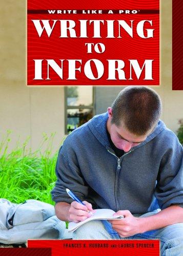 Download Writing to Inform (Write Like a Pro) pdf