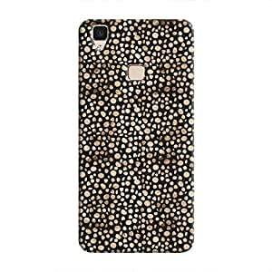 Cover It Up - Brown Black Pebbles Mosaic V3 Hard Case