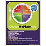 """Nasco Fort Atkinson MyPlate Tear Pad with Food Group Tips, 8.5"""" Length x 11"""" Width (50 Sheets)"""