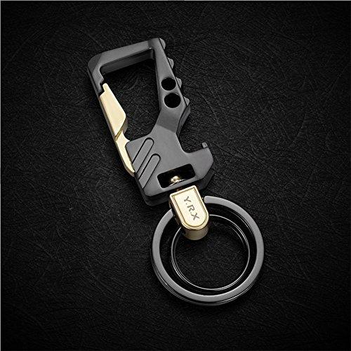 HUNGER Metal Bottle Opener Car Keychain Key Ring