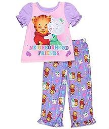 Daniel Tiger Toddler Girls\' 2pc Sleepwear Set, Purple, 3T