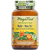 MegaFood - Multi for Men 55+, A Balanced Whole Food Multivitamin, 60 Tablets (FFP)