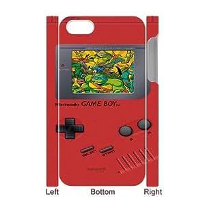 iphone4 Phone Case White Game boy TMNT Teenage Mutant Ninja Turtles UYUI6791771