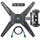 Mounting Dream MD2413-MX Articulating Wall Mount for Selected LCD/LED/Plasma TV weighing upto 60lbs & Size between 26-55 inches …