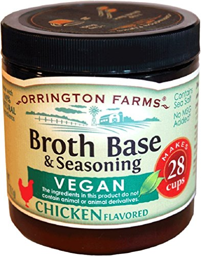 Orrington Farms - Vegan Chicken Flavored Broth Base, 6 oz. (Pack of 6)