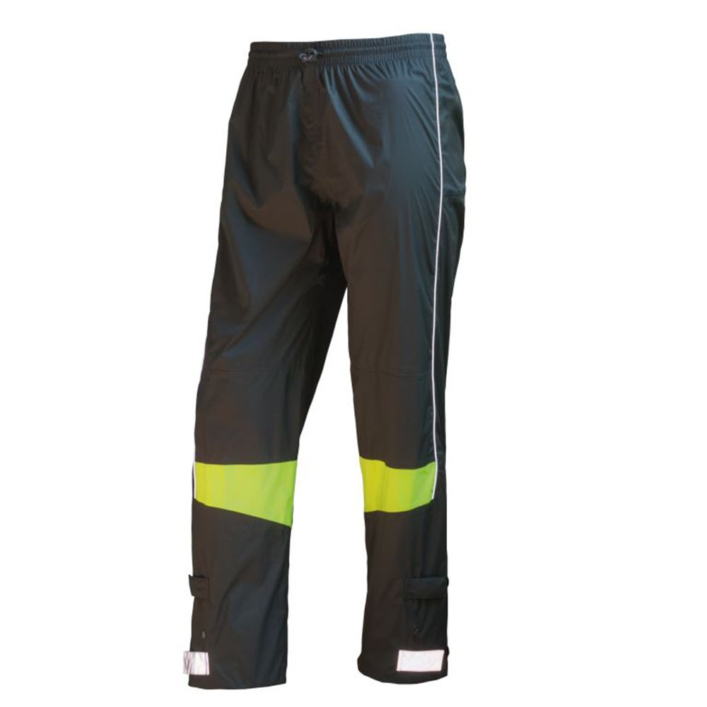 Unbekannt Wowow Herren Reflex-Regenhose Urban Fluoreszierend Gelb/Dunkel Grau