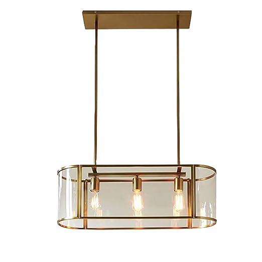Amazon.com: Bagood - Lámpara de techo colgante de 3 luces ...