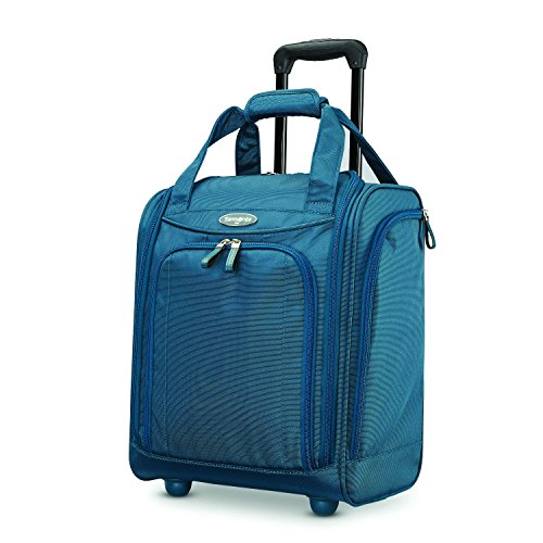 Samsonite Small Underseat Carry-On Luggage, Deep Teal, Small