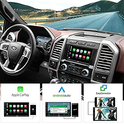 ATOTO Year Series in-Dash Double Din Digital Media Car Stereo - SA102 Starter YS102SL CarPlay & Android Auto Receiver w/Bluetooth, AM/FM Radio Tuner,USB Video & Audio,and More: Home Audio & Theater