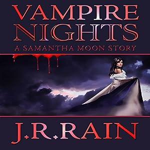 Vampire Nights: A Samantha Moon Story Audiobook
